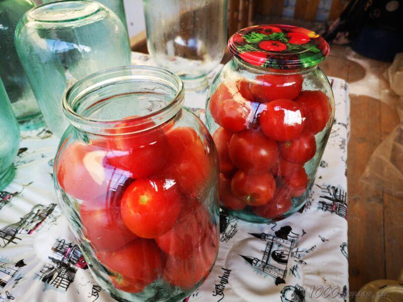 помидоры в банке на зиму