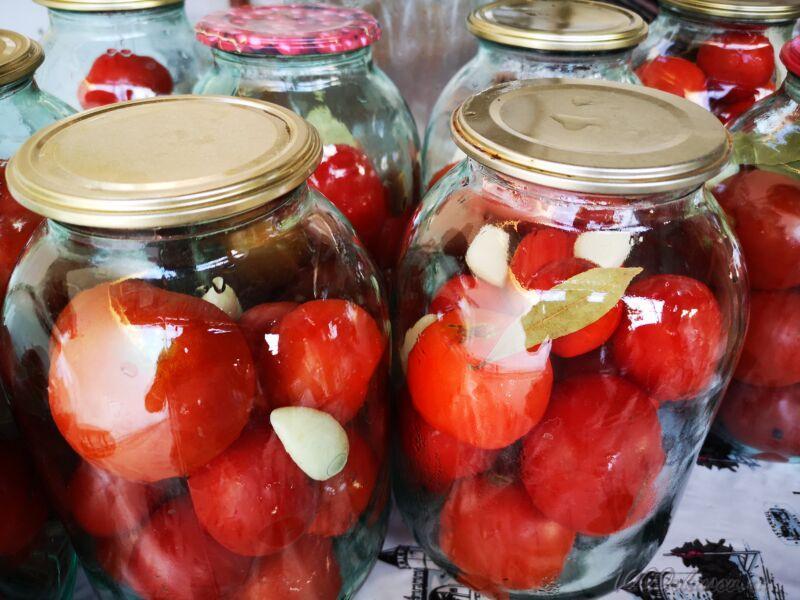 томаты в собственном соку на зиму