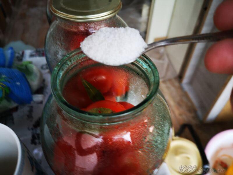 сколько соли в помидоры в собственном соку