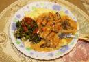 Бефстроганов из говяжьей печени — рецепт со сметаной на сковороде