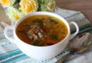 Рыбный суп из консервов сайры с рисом и картошкой